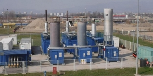 GAS FLARE FOR LANDFILL GAS TREATMENT AND PLANTS FOR PRODUCTION OF ELECTRICITY FROM LANDFILL GAS