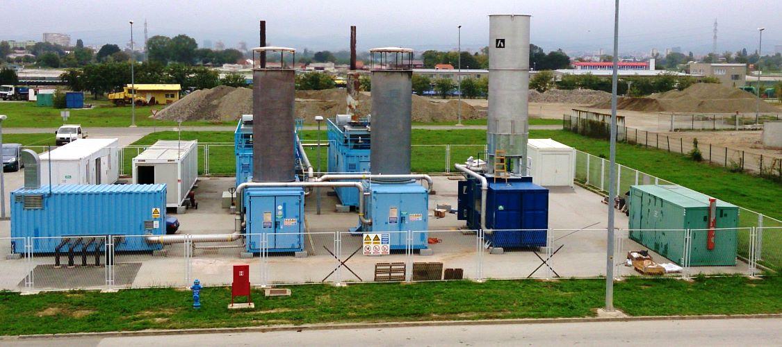 BAKLJE ZA SPALJIVANJE ODLAGALIŠNOG PLINA I POSTROJENJA ZA PROIZVODNJU ELEKTRIČNE ENERGIJE IZ ODLAGALIŠNOG PLINA